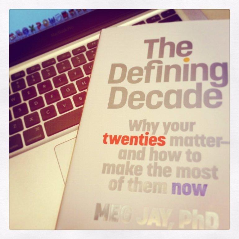 the twenties in meg jays novel the defining decade