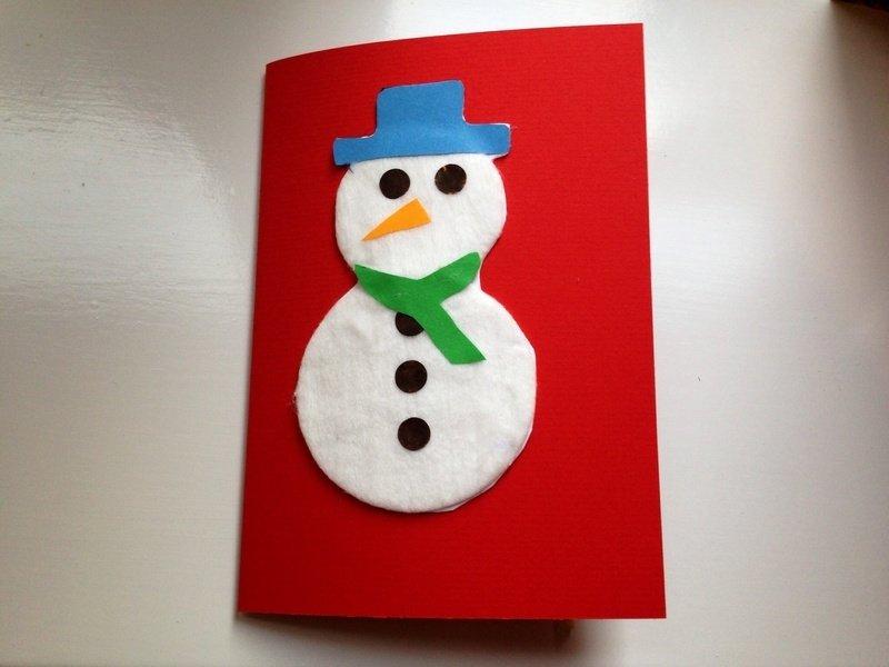 Снеговик из дисков своими руками