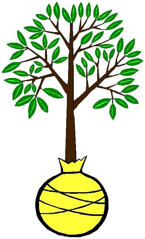Как сделать деревья на рисунке