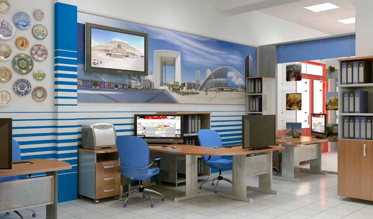 Турагентство дизайн офиса фото