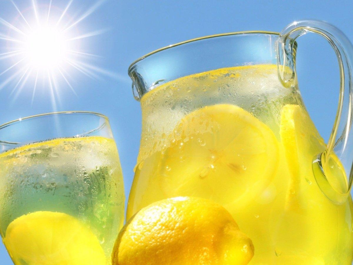Вода с лимоном для беременных