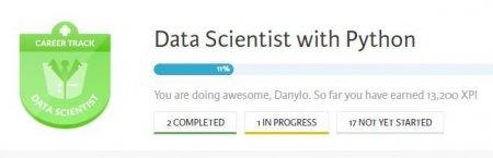Заниматься профессиональной деятельностью в области Data Science