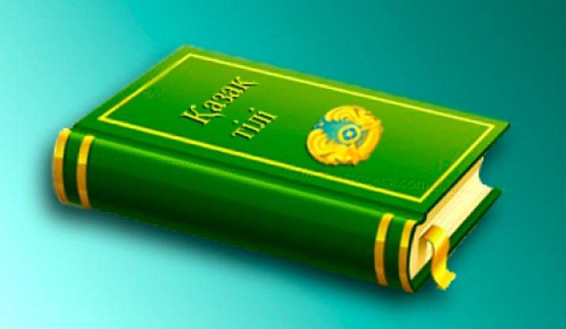 Новинка, картинка с надписью казахский язык